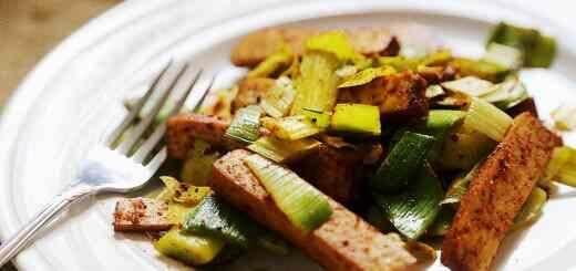 Grilled_Dried_Tofu_Steaks_Leek_Recipe