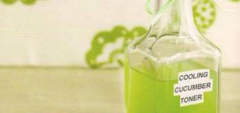 - DIY Cooling Cucumber and Green Tea Toner