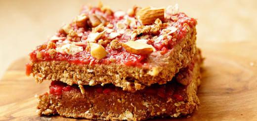 Healthy Vegan Raspberry Chocolate Crumbles