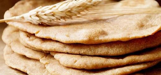 Whole Wheat & Spelt Flour Flatbread